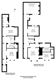 Large floorplan for Green Street, Mayfair, W1K