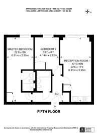 Large floorplan for Deals Gateway, Deptford, SE13