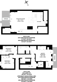 Large floorplan for Conduit Street, Mayfair, W1S