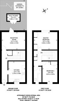 Large floorplan for Hainton Close, Shadwell, E1