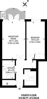 Large floorplan for Unicorn Building, Wapping, E1W