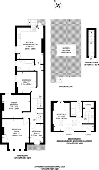 Large floorplan for Emmanuel Road, Telford Park, SW12