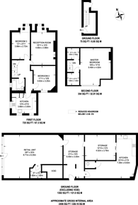Large floorplan for The Triangle, Kingston, KT1
