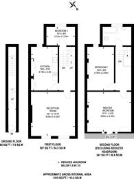 Large floorplan for Highbury Corner, Highbury and Islington, N5