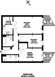 Large floorplan for Imperial Wharf, Imperial Wharf, SW6