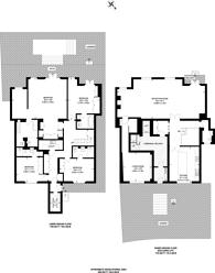 Large floorplan for Pembridge Crescent, Notting Hill, W11