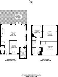 Large floorplan for Breamore Close, Roehampton, SW15