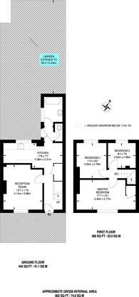 Large floorplan for Launcelot Road, Bromley, BR1