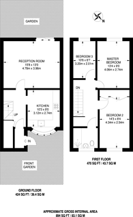 Large floorplan for Smythe Street, Poplar, E14