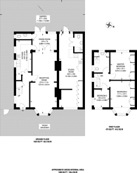 Large floorplan for Robin Hood Lane, Kingston Vale, SW15