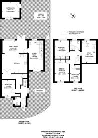 Large floorplan for Willow Road, New Malden, KT3