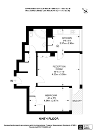 Large floorplan for Poynter House, Ladbroke Grove, W11