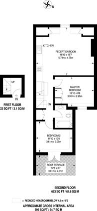 Large floorplan for Hartfield Road, Wimbledon, SW19