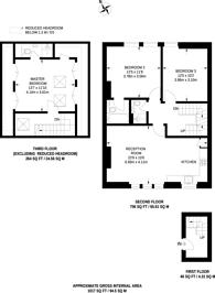 Large floorplan for Glenilla Road, Hampstead, NW3