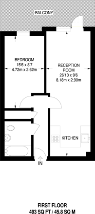 Large floorplan for London Road, Thornton Heath, CR7