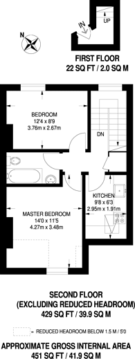 Large floorplan for Romola Road, Brockwell Park, SE24
