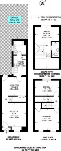 Large floorplan for Ringslade Road, Wood Green, N22