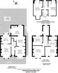 Large floorplan for Boyne Road, Lewisham, SE13