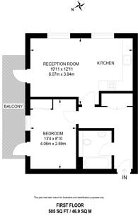 Large floorplan for New Festival Avenue, Poplar, E14