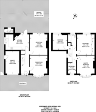 Large floorplan for West Barnes Lane, Motspur Park, KT3