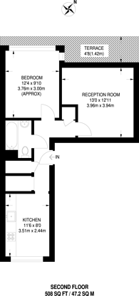 Large floorplan for Holland Grove, Oval, SW9