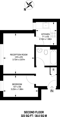 Large floorplan for Tinniswood Close, Islington, N5