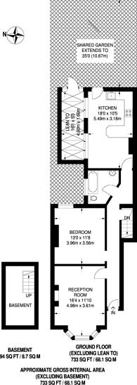 Large floorplan for Selwyn Road, Plaistow, E13