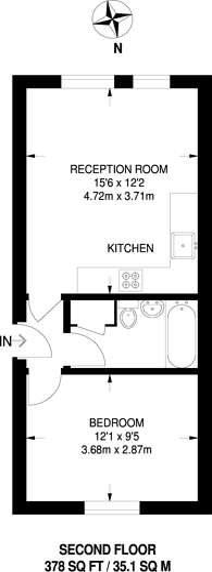 Large floorplan for Nightingale Way, Beckton, E6