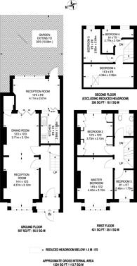 Large floorplan for Broadway Gardens, Mitcham, CR4
