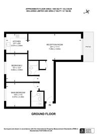 Large floorplan for Bacon Street, Shoreditch, E2