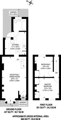 Large floorplan for Tennyson Road, Stratford, E15