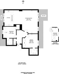 Large floorplan for Hatton Garden, Farringdon, EC1N