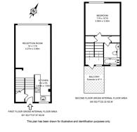 Large floorplan for Adam Walk, Crabtree Estate, SW6