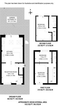 Large floorplan for Tiller Road, Isle Of Dogs, E14