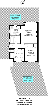 Large floorplan for Chigwell Road, Woodford Green, IG8