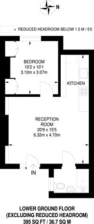 Large floorplan for Harewood Avenue, Marylebone, NW1