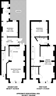 Large floorplan for St Elmo Road, Wendell Park, W12