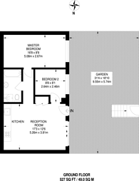 Large floorplan for Comberton Road, Clapton, E5