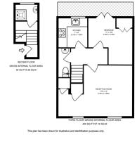 Large floorplan for Edbrooke Road, Maida Vale, W9