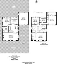 Large floorplan for Halland Way, Northwood, HA6