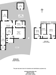 Large floorplan for Parklands Way, Worcester Park, KT4