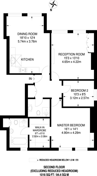 Large floorplan for Frognal Lane, Hampstead, NW3