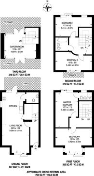 Large floorplan for Hermes House, Brixton, SW2