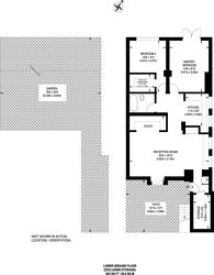 Large floorplan for Belitha Villas, Barnsbury, N1