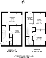 Large floorplan for Mansford Street, Bethnal Green, E2
