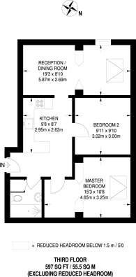 Large floorplan for Bethnal Green Road, Bethnal Green, E2