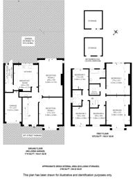 Large floorplan for De Montfort Road, Streatham, SW16