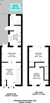 Large floorplan for Grenadier Street, Silvertown, E16