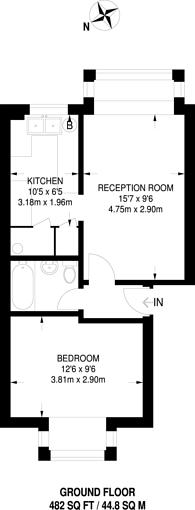 Large floorplan for Poplar Grove, New Southgate, N11