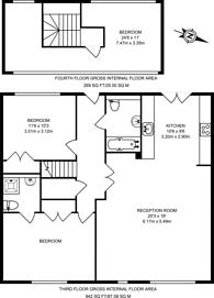 Large floorplan for Waterson Street, Shoreditch, E2